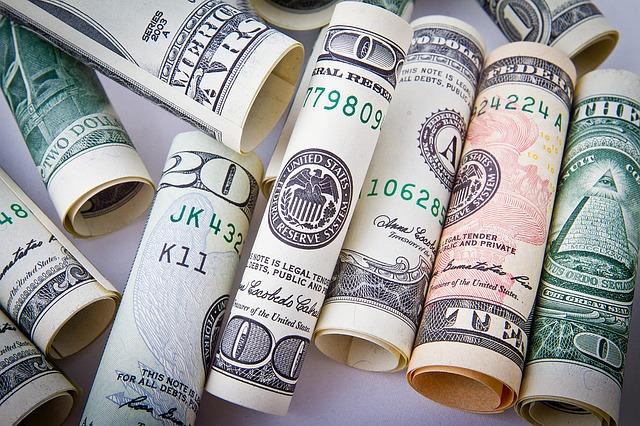 stočené dolarovky