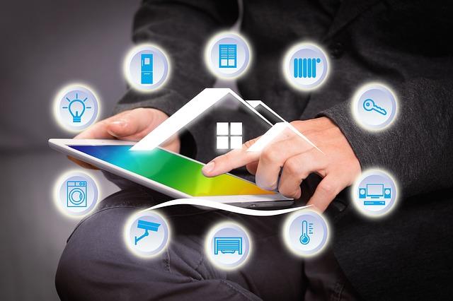 ovládání domu přes tablet