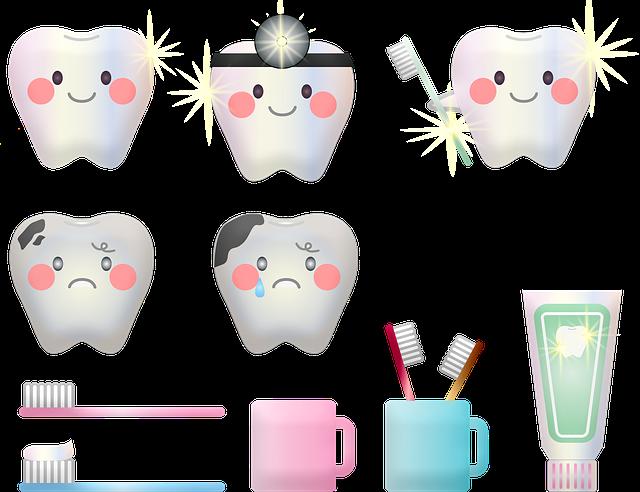 typické znaky dentistů